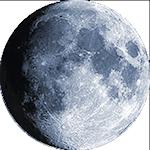 Lunárna fáza - 13. deň
